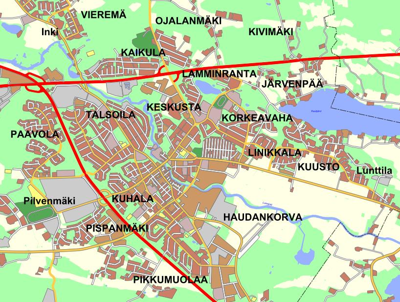 Järvenpään Kartta